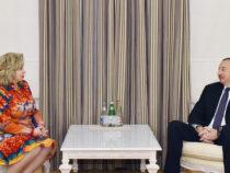 Президент Азербайджана принял уполномоченного по правам человека в России