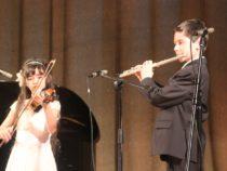 В концертном зале Администрации Президента РФ прошел концерт «Золотая скрипка» с детьми для детей