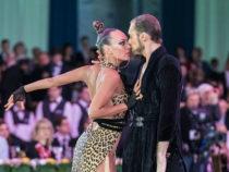 Чувственная румба и страстный пасодобль азербайджанской пары на Чемпионате Европы по латиноамериканским танцам в Кремле