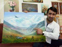 Ровшан Гулиев — востребованный художник в Эстонии