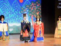 Красочный праздник культуры и спорта Кореи в Азербайджане