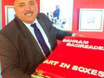 Бахрам Багирзаде представитперсональную выставку «ART IN BOXES-2»