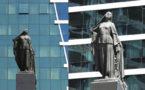 Бакинская городская скульптура: История создания памятника «Освобожденная женщина»
