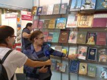 Павильон Азербайджана вызвал большой интерес посетителей Московской книжной ярмарки