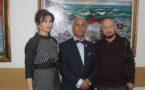 В Москве прошла презентация выставки Аскера Мамедова «Гранатовый прибой»