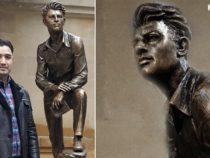 Бакинская городская скульптура: памятник Микаилу Мушфигу, созданный нашим современником