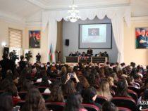 В Университете языков организовали научную конференцию «Гусейн Джавид и мировая литература»