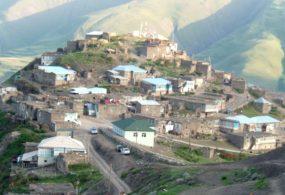 Уникальное горное село Хыналыг