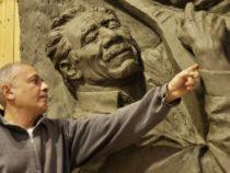 Мемориальная скульптура: памятник знаменитому азербайджанскому ашугу