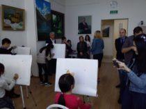"""В Габале прошел симпозиум по живописи под названием """"Art Zone Week"""""""
