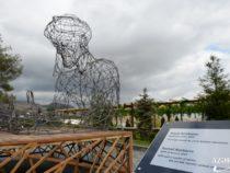 Состоялась церемония открытия скульптурной инсталляции Насими