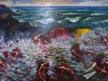 В Мосгордуме открылась выставка картин Аскера Мамедова «Гранатовый прибой»