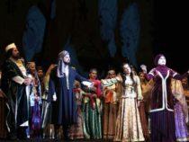 Потрясающая премьера грандиозной оперы «Мехсети» с 3D оформлением