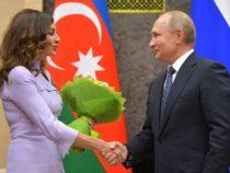 Состоялась встреча Владимира Путина и Мехрибан Алиевой