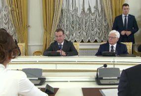 Состоялась встреча Дмитрия Медведева с первым вице-президентом Азербайджана Мехрибан Алиевой