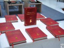 В Академии наук состоялась презентация книги «Обошедший весь мир Молла Насреддин»