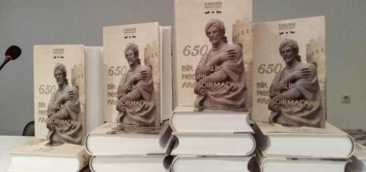 Презентована книга «Вековое исследование о Насими»