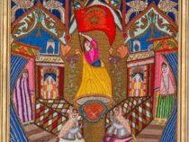 Выставка ковров в Государственном музее Востока