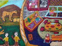 Завершился онлайн конкурс рисунков на тему «Защитим наш мир: обычаи и традиции тюркского мира»