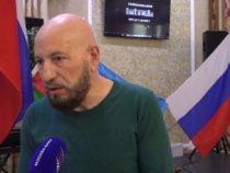 Азербайджанцы, живущие в Москве, провели акцию поддержки Азербайджана