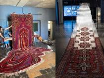 Психоделические ковры художника из Азербайджана, в которых воплотилась нетрадиционная эстетика традиционного искусства