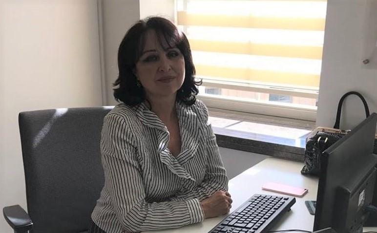 На фото Марина МУРСАЛОВА, Баку, член Союза писателей и Союза журналистов Азербайджана, награждена медалью «За развитие культуры и искусства» Межпарламентской Ассамблеи СНГ