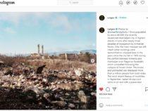National Geographic опубликовал на своей странице в Instagram фотографии разрушенного в результате армянской оккупации города Агдам
