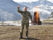 Ильхам Алиев в Шуше на Джыдыр дюзю поздравил народ Азербайджана с Новруз байрамы