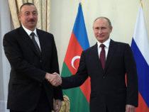 ВладимирПутин поздравил Ильхама Алиева с Днём Республики