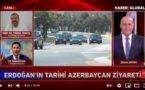 В эфире Haber Global была дана оценка визита Эрдогана в Азербайджан и подписанная Шушинская декларация