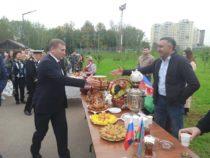Азербайджанцы города Долгопрудный приняли участие в празднование дня города