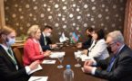 Гафарова выразила протест главе ПА ОБСЕ из-за термина «нагорно-карабахский конфликт»