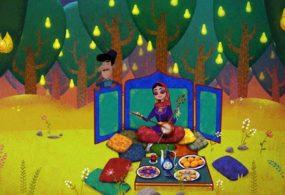 Героиня проекта «Маша и медведь» рассказала азербайджанскую сказку о принце Мелик-Мамеде